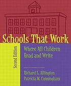 Schools that work : where all children read and write