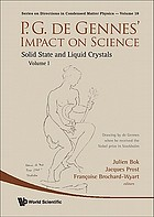 P.G. de Gennes' impact on science. Volume II, Soft matter and biophysics