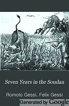 Seven years in the Soudan; being a record of explorations, adventures, and campaigns against the arab slave hunters.