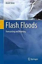 Flash floods : forecasting and warning
