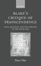 Blake's critique of transcendence : love, jealousy, and the sublime in The four Zoas