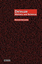Deleuze : history and science