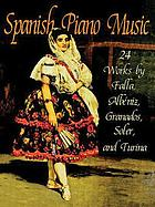 Spanish piano music : 24 works