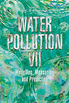 Water pollution VII : modelling, measuring and prediction