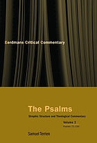 The Psalms : strophic structure and theological commentary