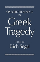 Oxford readings in Greek tragedy