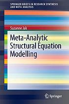 Meta-analytic structural equation modelling