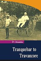 Tranquebar to Travancore
