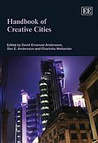 Handbook of creative cities
