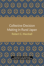 Collective decision making in rural Japan