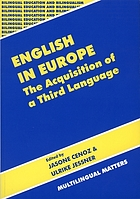 English in Europe : the acquisition of a third language