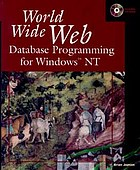 World Wide Web database programming for Windows NT