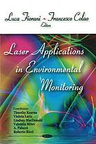 Laser applications in environmental monitoring