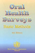 Oral health surveys : basic methods.