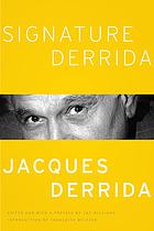 Signature Derrida.