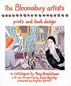 The Bloomsbury artists : prints and book design
