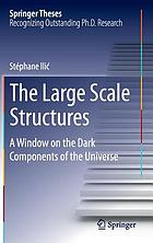 The large scale structures : a window on the dark components of the universe