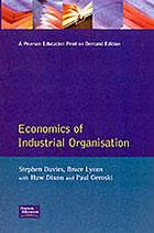 Economics of industrial organisation
