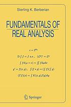 Fundamentals of real analysis