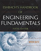 Eshbach's handbook of engineering fundamentals