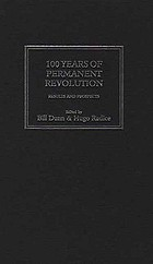 100 years of permanent revolution : results and prospects