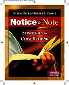 Notice & note : strategies for close reading