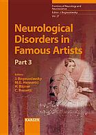 Neurological disorders in famous artists.