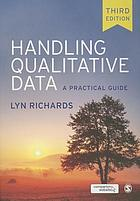 Handling qualitative data : a practical guide