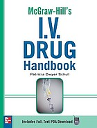 Mcgraw-Hill's I.V. drug handbook