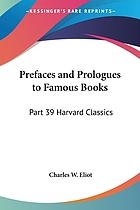 Prefaces and prologues to famous books : with introductions and notes.
