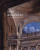 Jean Rondelet : the architect as technician