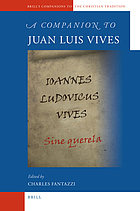 A companion to Juan Luis Vives