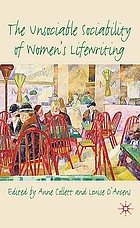 The unsociable sociability of women's lifewriting