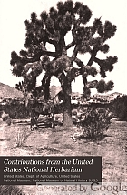 Contributions from the United States National Herbarium.