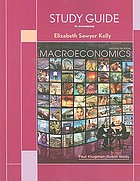 Sudy guide to accompany Macroeconomics