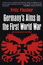 Germany's aims in the First World War