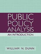 Public Policy Analysis: An Introduction cover image