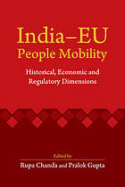 India-EU people mobility : historical, economic and regulatory dimensions