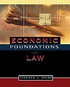 Economic foundations of law