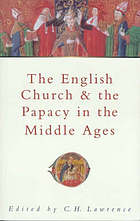 The English church & the papacy in the Middle Ages