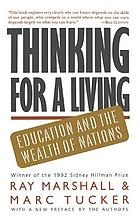 Thinking for a living : education and the wealth of nations