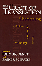 The craft of translation