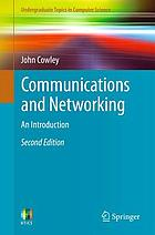 Communications and networking : an introduction