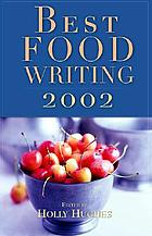 Best food writing, 2002