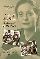 Out of my bone : the letters of Joy Davidman