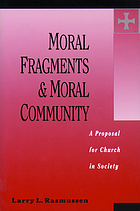 Moral fragments and moral community : a proposal for church in society