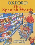 Oxford first Spanish words