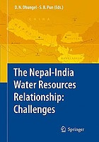 The Nepal-India water relationship : challenges