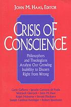 Crisis of conscience