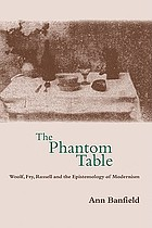The phantom table : Woolf, Fry, Russell, and epistemology of modernism